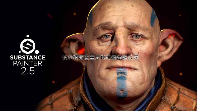 3D纹理材质软件Allegorithmic Substance Painter V2.5官方发布了